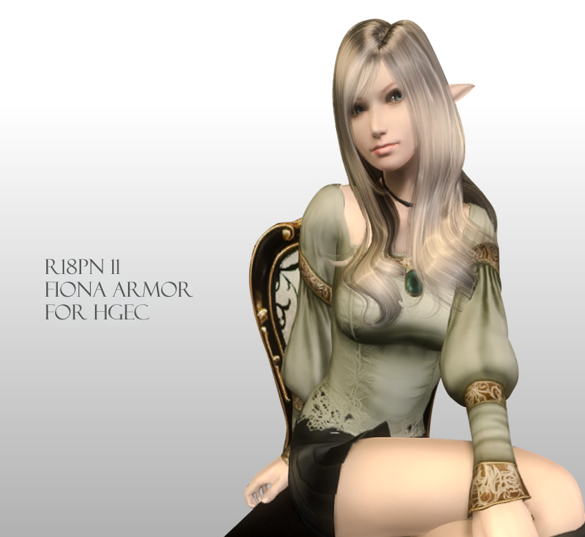 R18PN 11 – Fiona Armor for HGEC