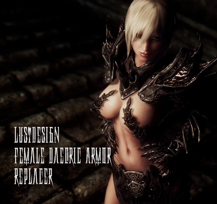 LustDesign – Female Daedric Armor Replacer