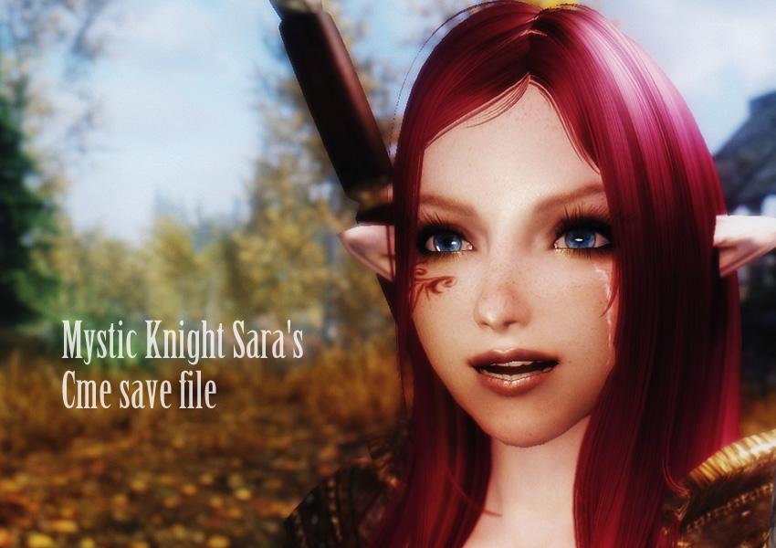 Mystic Knight Sara CME save file