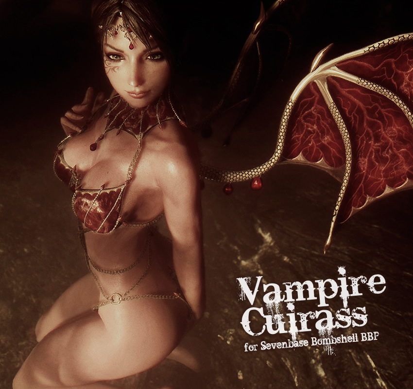 Vampire cuirass for Sevenbase Bombshell BBP