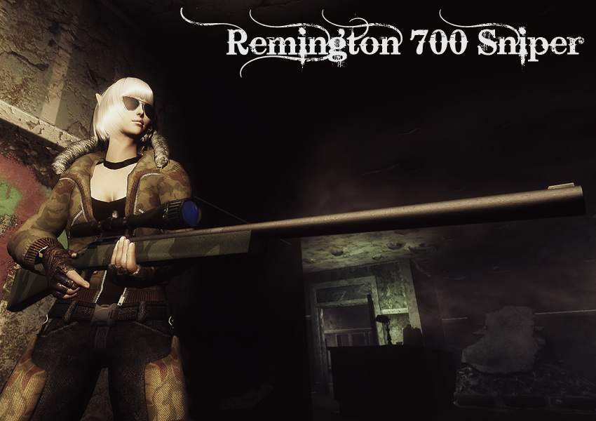 Remington 700 Sniper