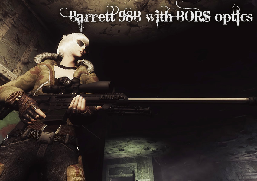 Barrett 98B with BORS optics