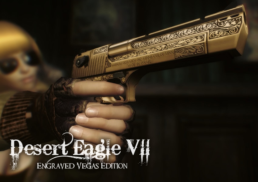 Desert Eagle VII Engraved Vegas Edition