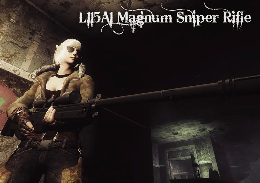 L115A1 Magnum Sniper Rifle