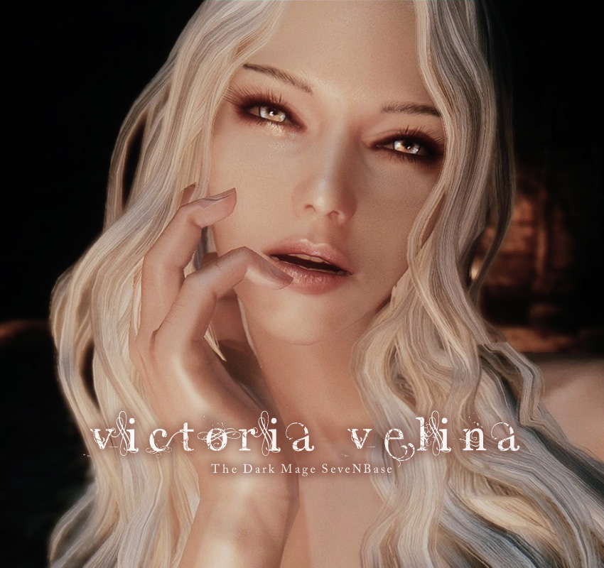 Victoria Velina The Dark Mage SeveNBase -Standalone-