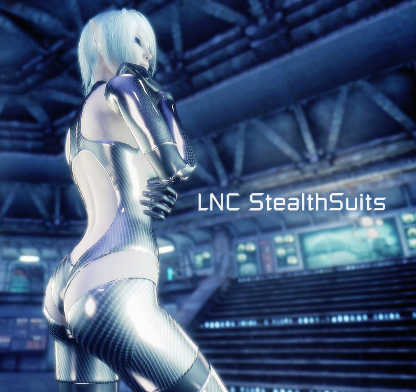 TYPE3 and SKINNY LNC StealthSuits NewVegas