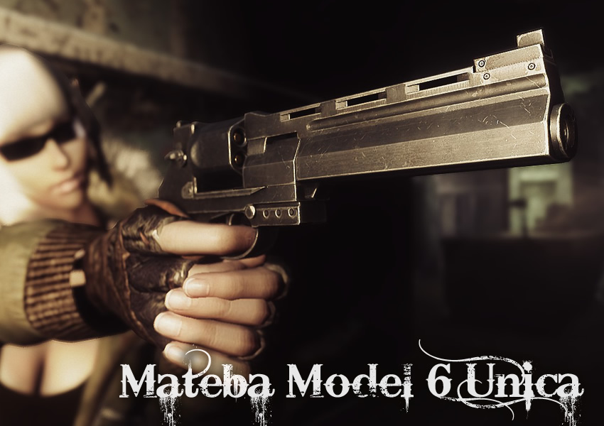 Mateba Model 6 Unica