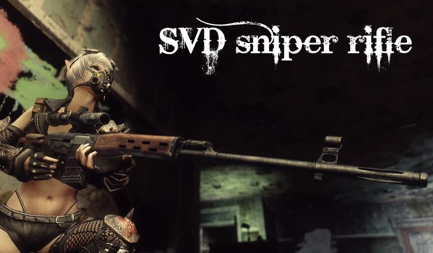 SVD sniper rifle v1_5