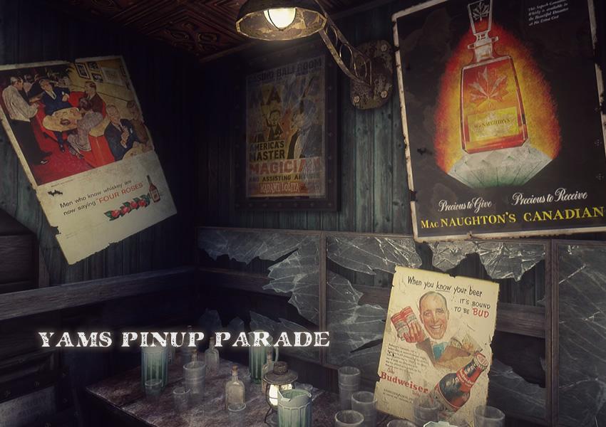 Yams Pinup Parade