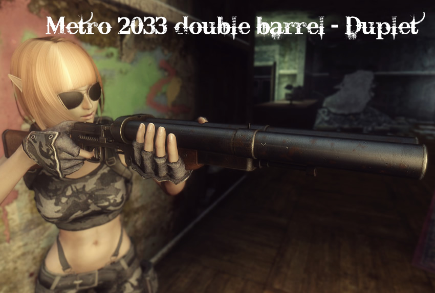 Metro 2033 double barrel – Duplet