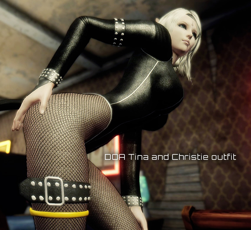 Neo-DOA Tina and Christie outfit