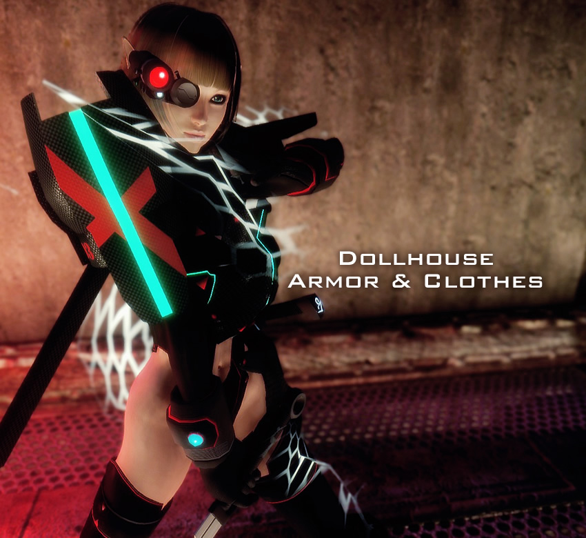 DollHouse Armor & Clothes