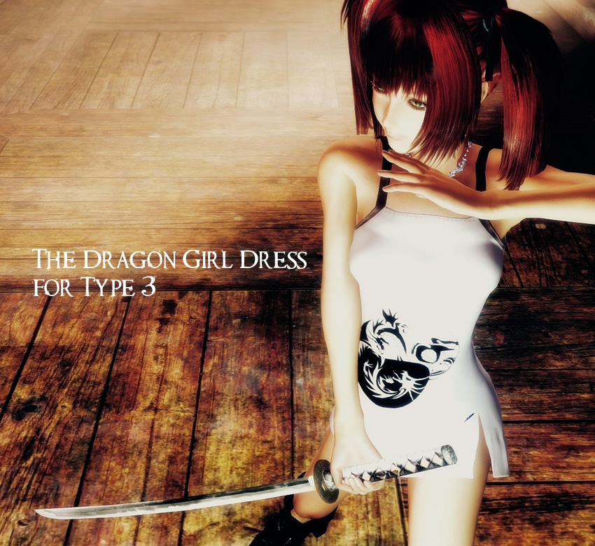 The Dragon Girl Dress for Type 3