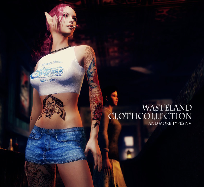 Wasteland ClothCollection and more Type3 NV