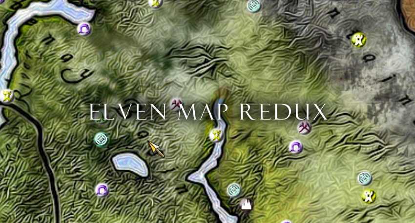 Elven Map Redux