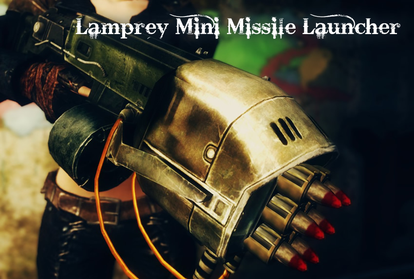 Lamprey Mini Missile Launcher