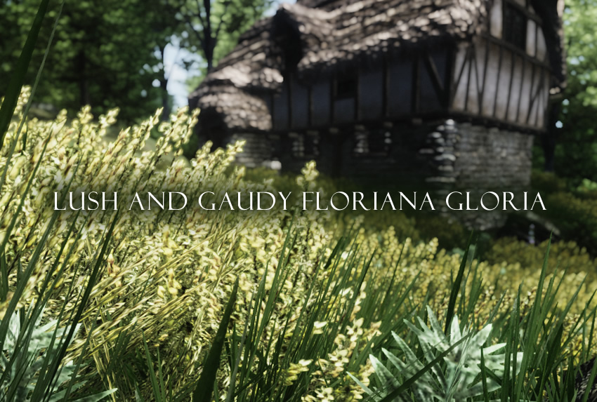 Lush and Gaudy Floriana Gloria