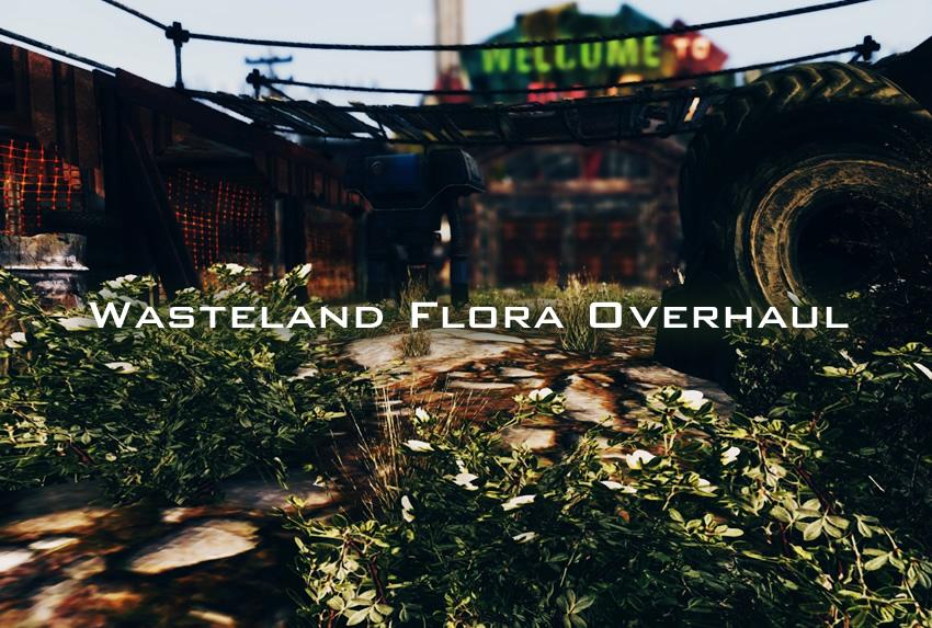 Wasteland Flora Overhaul
