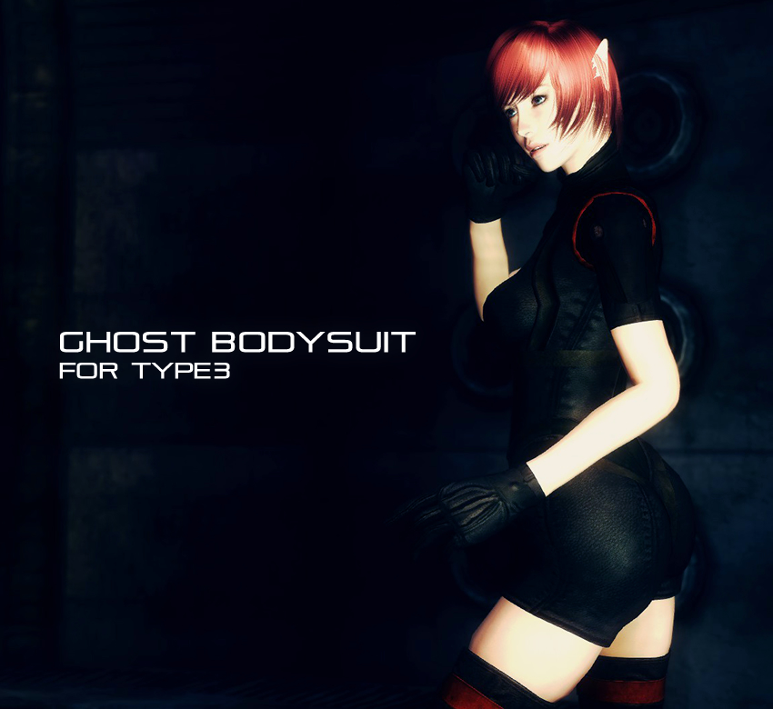 Ghost bodysuit for Type3