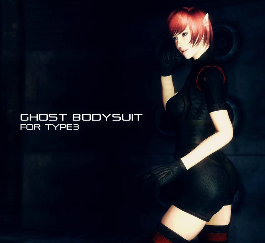 Ghost bodysuit for Type3