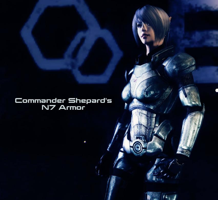 Commander Shepard's N7 Armor
