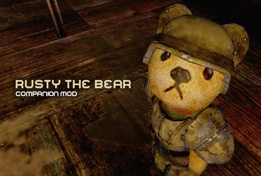 Rusty the Bear – Companion Mod