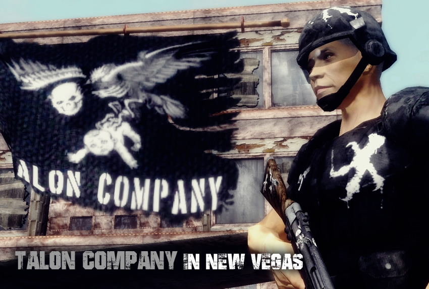 Talon Company in New Vegas