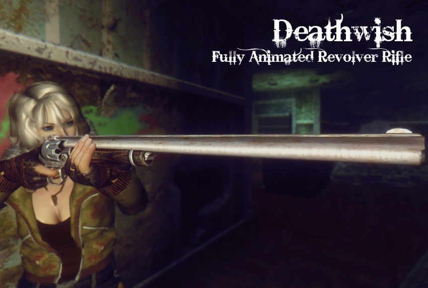 Deathwish – Fully Animated Revolver Rifle