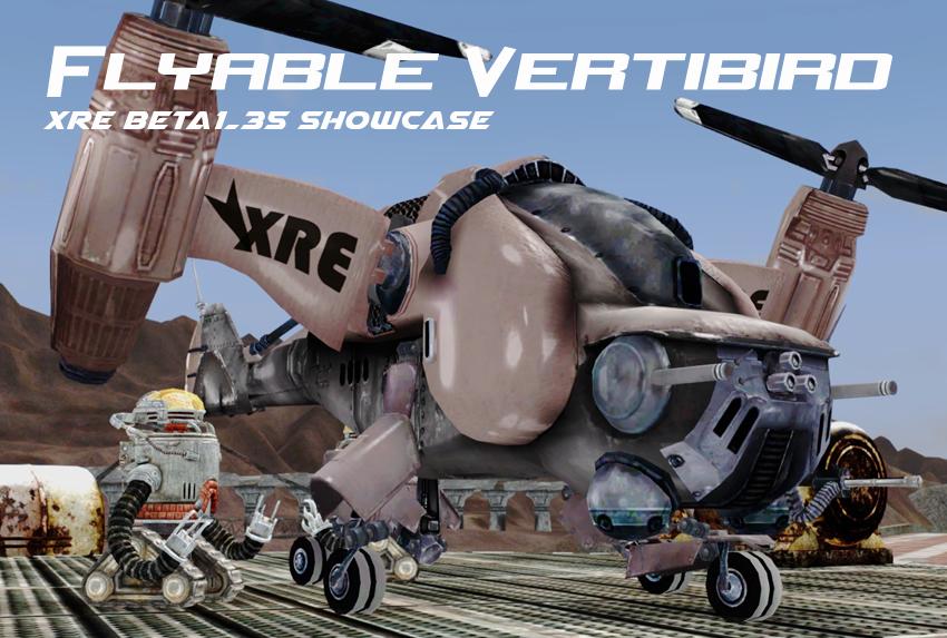 Flyable-Vertibird