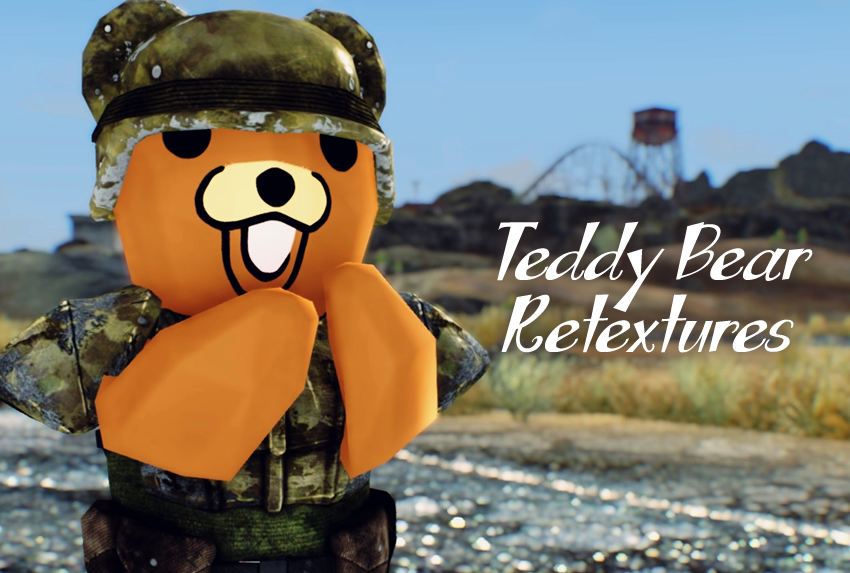 Teddy Bear Retextures