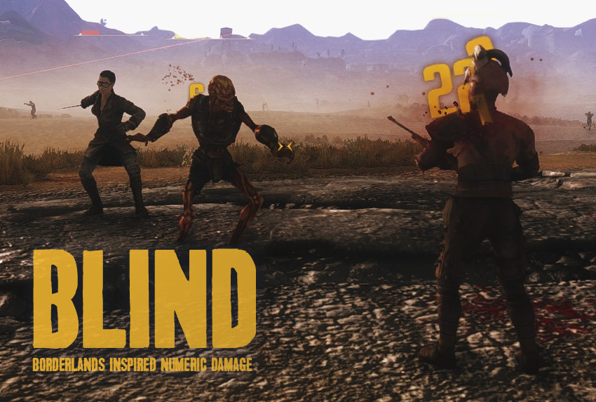 BLIND – Borderlands Inspired Numeric Damage