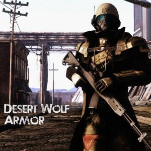 Desert Wolf Armor
