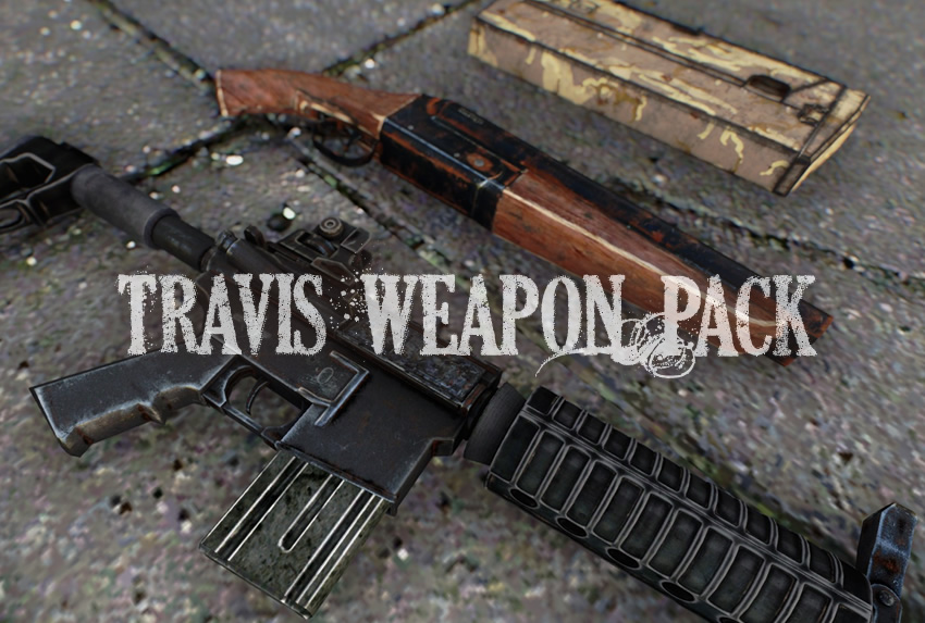 Travis' Weapon Pack