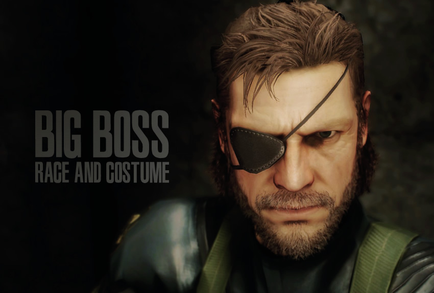 Big Boss Race and Costume