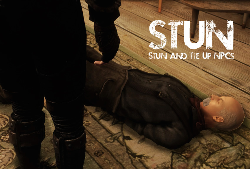 STUN – Stun and Tie Up NPCs