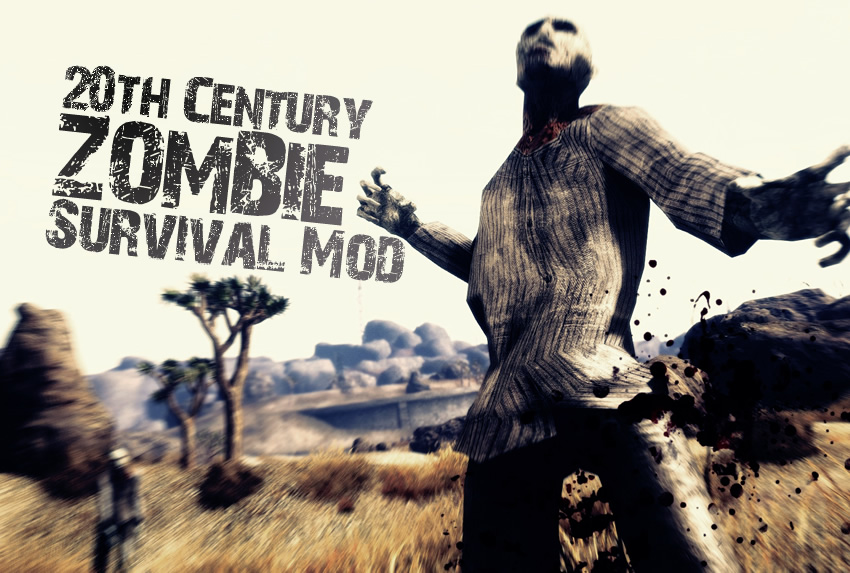 20th Century Zombie Survival Mod