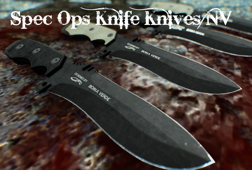 Spec Ops Knife Knives NV