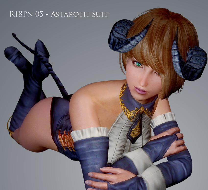 R18Pn 05 – Astaroth Suit for UNP and CBBE V3