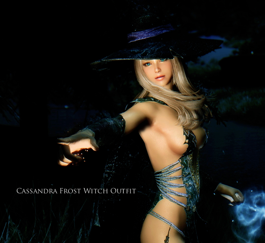 Cassandra Frost Witch Outfit UUNP – CBBE
