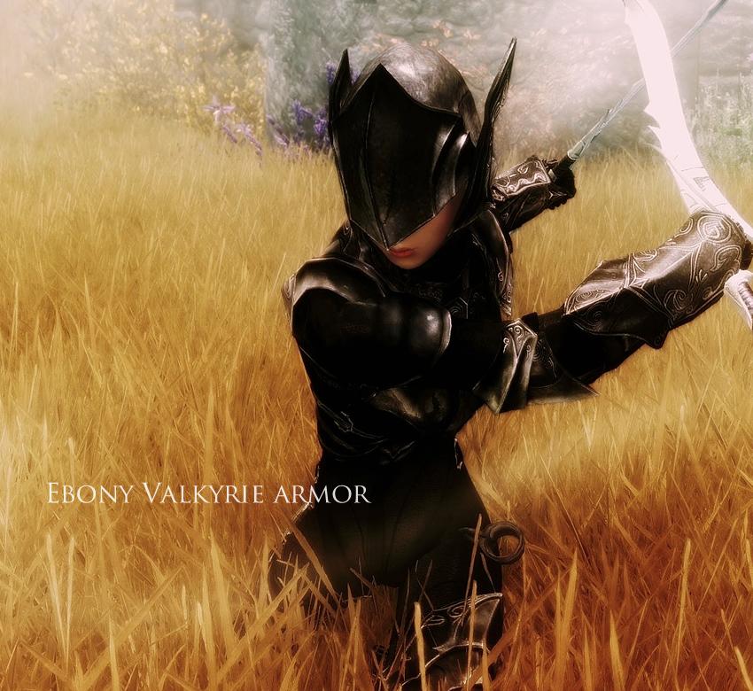 Ebony Valkyrie armor