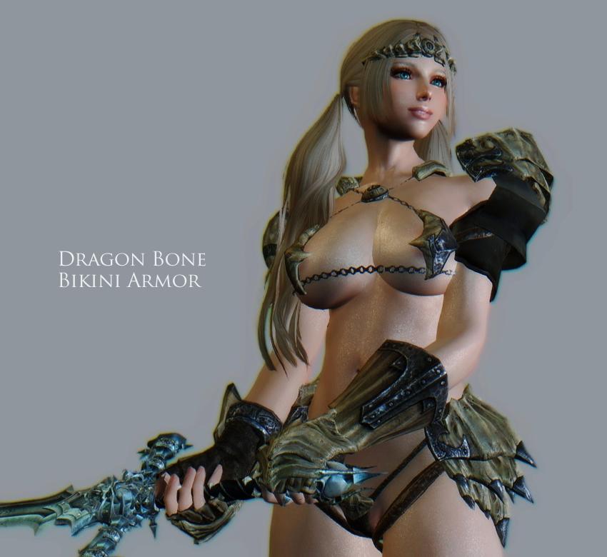 Dragon Bone Bikini Armor