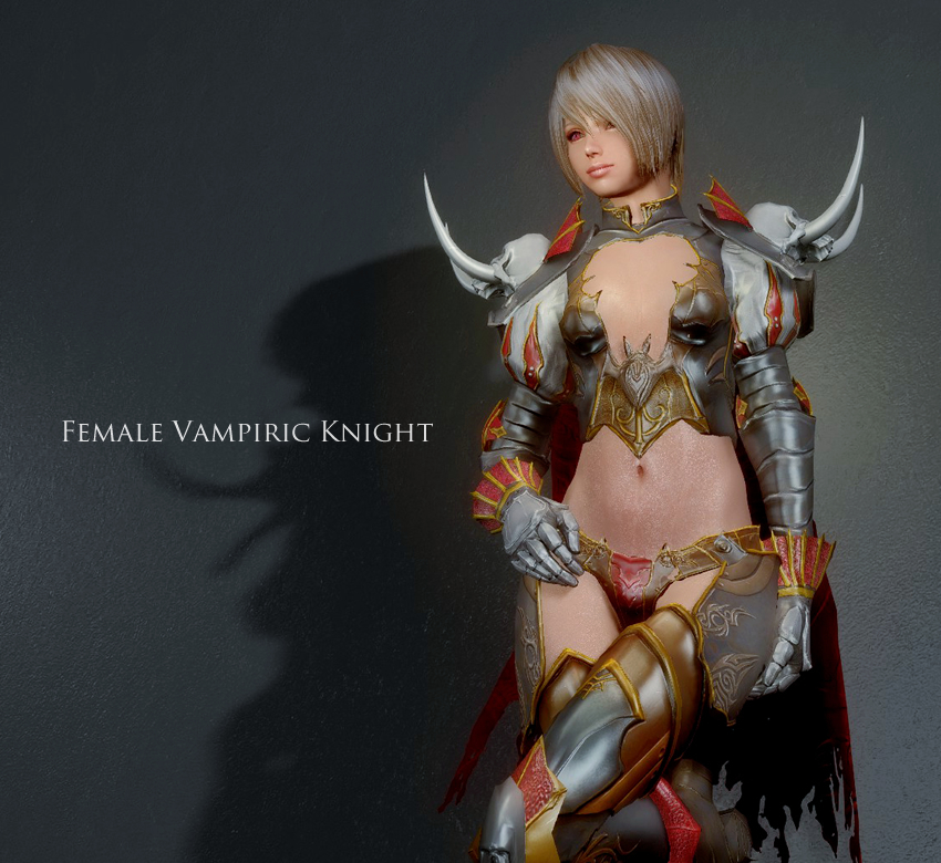 Female Vampiric Knight UNP