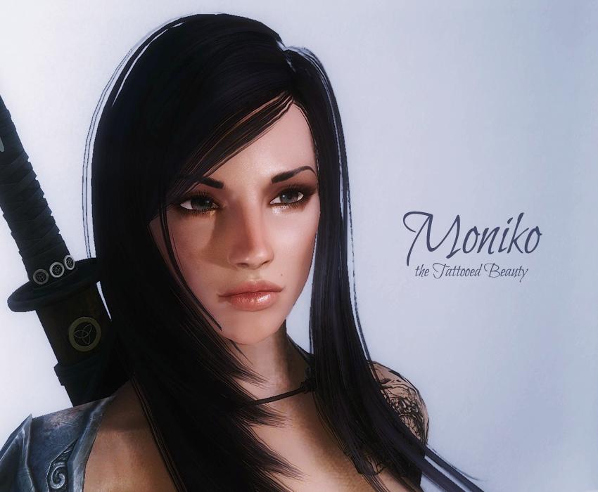 Moniko the Tattooed Beauty