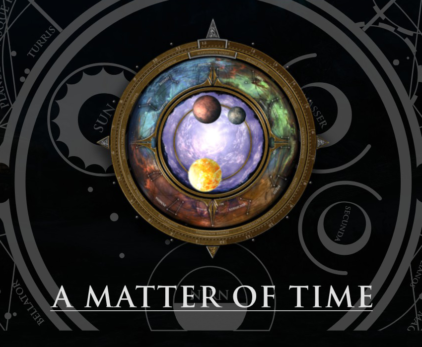 A Matter of Time – A HUD clock widget