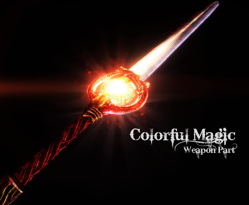 Colorful-Magic-weapon