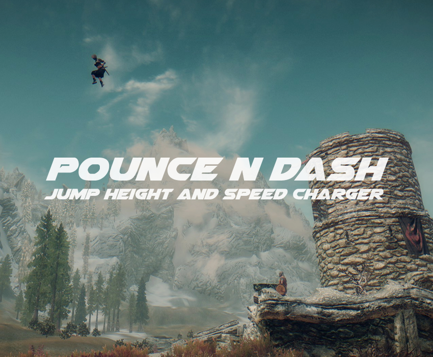 Pounce n Dash – Jump Height and Speed Charger