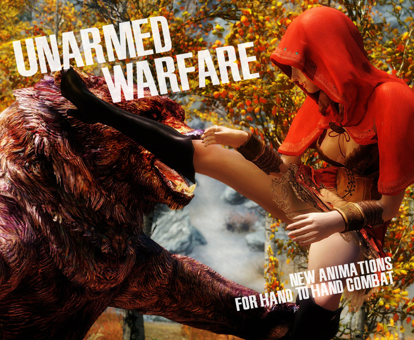 Unarmed Warfare – New Animations For Hand To Hand Combat