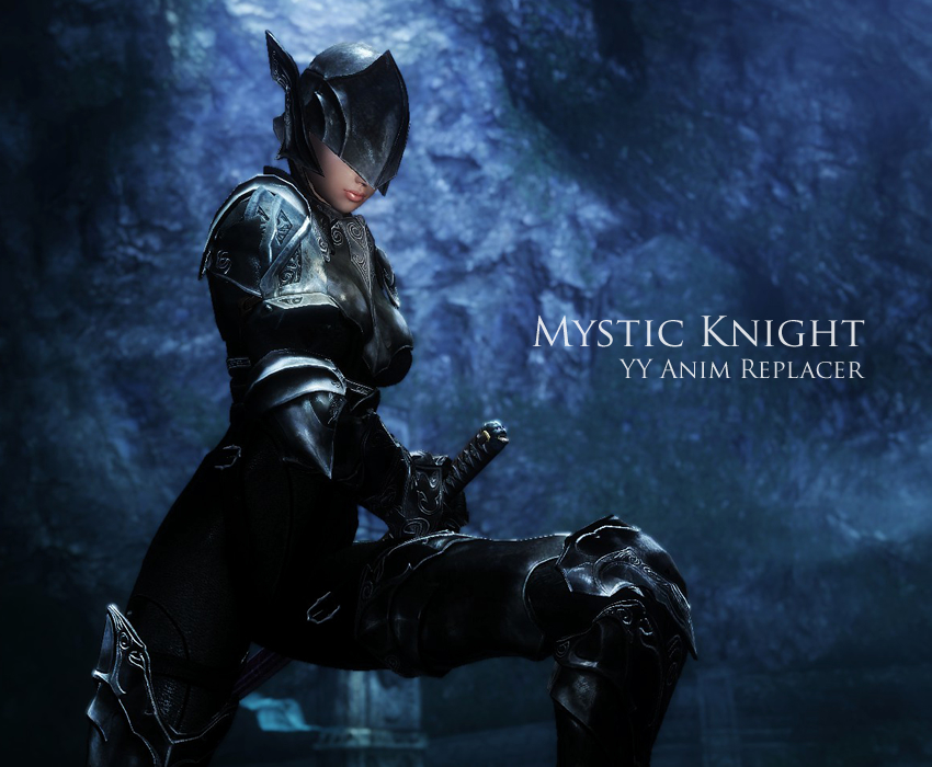 YY Anim Replacer – Mystic Knight