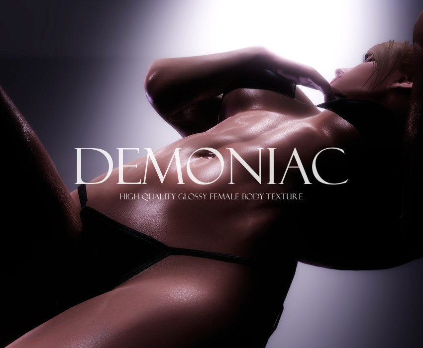 Demoniac- High Quality Glossy Female Body Texture 8K 4K 2K