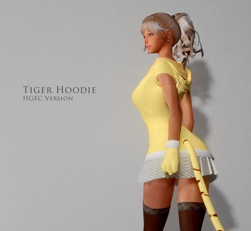 Tiger Hoodie HGEC Version
